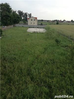Vand teren cu fundatie pt casa, in Tarian - imagine 2