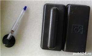 Accesorii intretinere acvariu - termometru si razuitor geam JBL, manusa, racleta - imagine 1