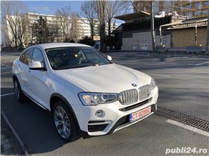 BMW X4 Xdrive 2,0 alb sidef, primul proprietar, Germania  - imagine 19