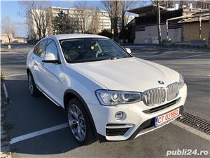 BMW X4 Xdrive 2,0 alb sidef, primul proprietar, Germania  - imagine 20