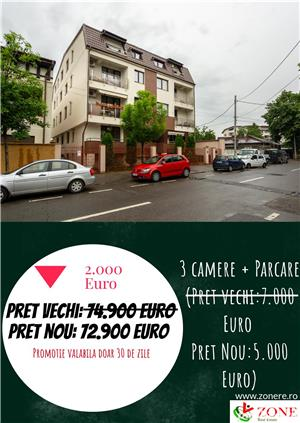 Apartament 3 camere de vanzare Bucurestii Noi  - imagine 1