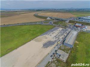 Vezi FILM!!Oportunitate de investitie la DN1, 5.000 mp, zona aeroportului Brasov - imagine 5