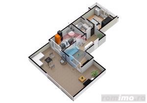 Apartament | 2 camere | Balcon- 9.5 mp | DEZVOLTATOR - imagine 4