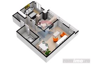 Apartament | 2 camere | 54,2 mpu | Selimbar | COMISION 0% - imagine 5