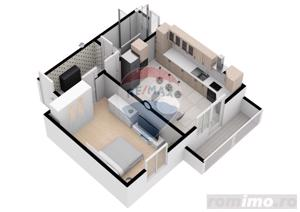 Apartament | 2 camere  | 52.6 mpu | Comision 0% - imagine 1