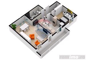Apartament | 2 camere | 54,2 mpu | Selimbar | COMISION 0% - imagine 3