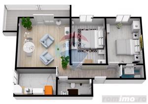 Apartament cu 3 camere | 61,6 mpu | Selimbar | COMISION 0% - imagine 4