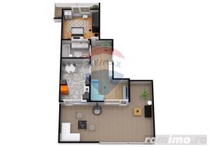 Apartament | 2 camere | Balcon- 9.5 mp | DEZVOLTATOR - imagine 6