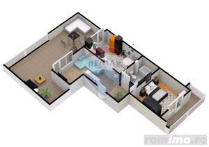 Apartament | 2 camere | Balcon- 9.5 mp | DEZVOLTATOR - imagine 5
