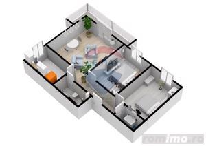 Apartament cu 3 camere | 61,6 mpu | Selimbar | COMISION 0% - imagine 3