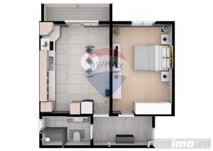 Apartament | 2 camere  | 52.6 mpu | Comision 0% - imagine 4