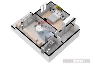 Apartament | 2 camere  | 52.6 mpu | Comision 0% - imagine 5