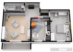 Apartament | 2 camere | 55.3 mpu | Șelimbăr | Comision 0% - imagine 6