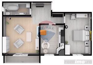 Apartament | 2 camere | 55.3 mpu | Șelimbăr | Comision 0% - imagine 5