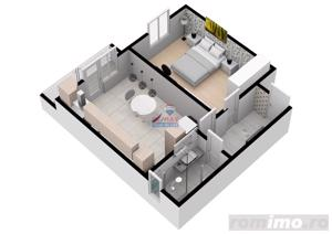 Apartament modern cu 34,5 mpu | COMISION 0% | - imagine 4