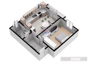 Apartament modern cu 34,5 mpu | COMISION 0% | - imagine 3
