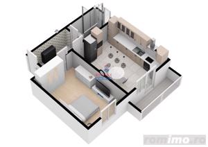 Apartament modern cu 34,5 mpu | COMISION 0% | - imagine 2
