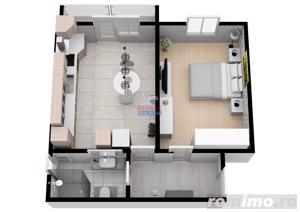 Apartament modern cu 34,5 mpu | COMISION 0% | - imagine 5