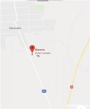 Proprietar teren casa 1037mp 2 fronturi Sanandrei - imagine 3
