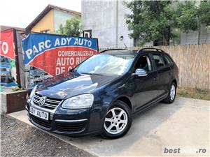 VW  GOLF BREK  1,9 TDI - AN 2008 / 08 - RATE FIXE , EGALE , FARA AVANS , CLIMA FUNCTIONALA  - imagine 1