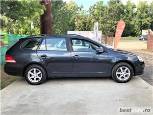 VW  GOLF BREK  1,9 TDI - AN 2008 / 08 - RATE FIXE , EGALE , FARA AVANS , CLIMA FUNCTIONALA  - imagine 7