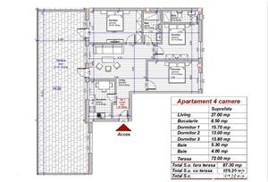 Dezvoltator apart tip penthouse 4 cam  88mp+72mp  Turnisor - imagine 1