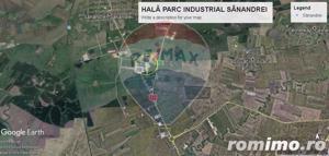 HALĂ  5.625mp-VÂNZARE SAU ÎNCHIRIERE-ÎN PARC INDUSTRIAL SÂNANDREI -0% COMISION ! - imagine 8