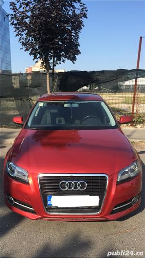 Audi A3 Sportback   An 2012   75.000 km   Diesel   Cutie automata - imagine 9