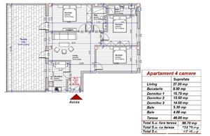 Dezvoltator apart tip penthouse 4 cam 2 bai la alb 89mp+46mp Turnisor - imagine 3