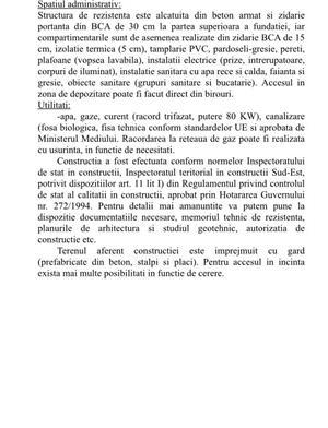 Inchiriem hala industriala + birouri,Constanta,Loc Lumina - imagine 7