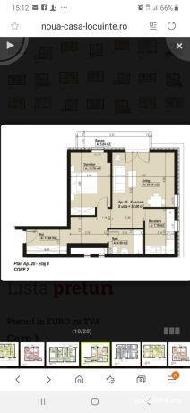 Apartament cu 2 camere decomandat(Aradului).Direct de la dezvoltator! - imagine 6