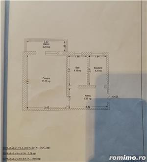 apartament cu 1 camera confort 1 decomandat  - imagine 11