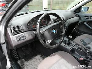 BMW 320 D E46 facelift 150 cp manual 6+1 trepte climatronic an 2004 Euro4 - imagine 8