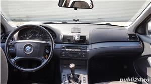 BMW 320 D E46 facelift 150 cp manual 6+1 trepte climatronic an 2004 Euro4 - imagine 15