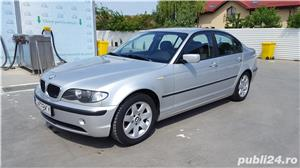 BMW 320 D E46 facelift 150 cp manual 6+1 trepte climatronic an 2004 Euro4 - imagine 1