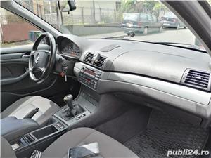BMW 320 D E46 facelift 150 cp manual 6+1 trepte climatronic an 2004 Euro4 - imagine 7