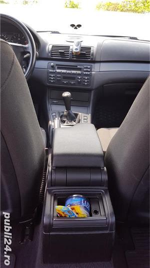 BMW 320 D E46 facelift 150 cp manual 6+1 trepte climatronic an 2004 Euro4 - imagine 10