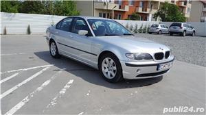 BMW 320 D E46 facelift 150 cp manual 6+1 trepte climatronic an 2004 Euro4 - imagine 3