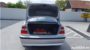 BMW 320 D E46 facelift 150 cp manual 6+1 trepte climatronic an 2004 Euro4 - imagine 12
