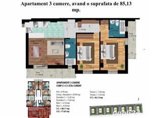 Vanzare apartament 3 camere Militari Chiajna - imagine 1