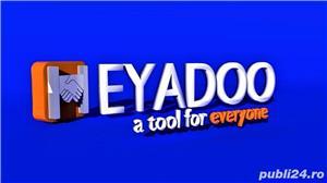 HEYADOO, noua platforma online de Marketing si Publicitate te asteapta in echipa de manageri! - imagine 1