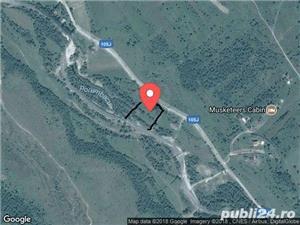 2300mp super teren intravilan cu utilitati, munte,rau,padure,strada asfaltata,zona turistica curata - imagine 12