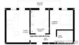 Apartament finisat la cheie - Hipodrom 4 - imagine 3