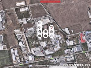 Teren de vanzare in Zona Industriala Vest 60000 mp - imagine 3