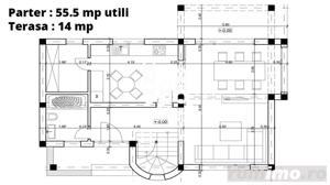 Casa Individuala 350 mp curte Calea Cisnadiei Padurea Dumbrava - imagine 6