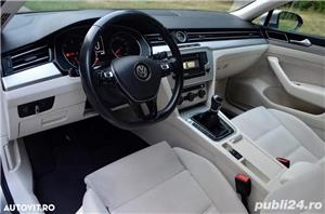 VOLKSWAGEN PASSAT 2.0 TDI 150 CP EURO 6 an 2015 - imagine 10