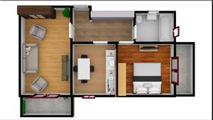Apartament 2 camere / Complex rezidential - imagine 3