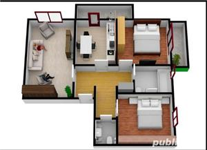 Apartament 2 camere / Complex rezidential - imagine 2