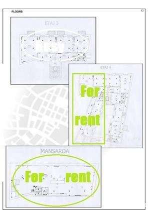 Central,BL Carol 1, 275mp , Birouri , Stradal  - imagine 8