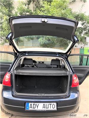 VW GOLF 5 -1,4 Benzina  - RATE FIXE , EGALE , FARA AVANS , EURO 4 , CLIMA  - imagine 6